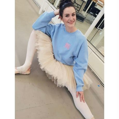 [Ballet Style]Ballet Style Sweatshirt by Olivia Cowley!(男女兼用サイズ)