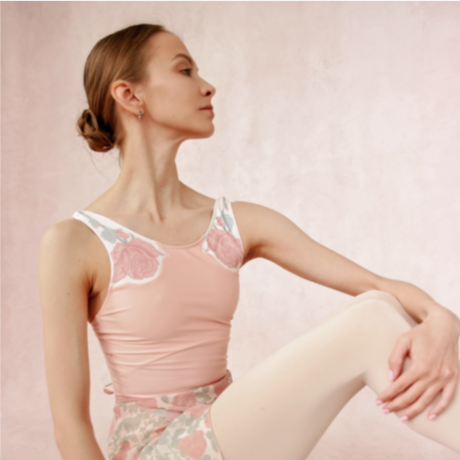 [Ballet Maniacs] Rose leotard