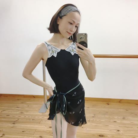 [Ballet Maniacs] Wrap Skirt 'Small Lily'