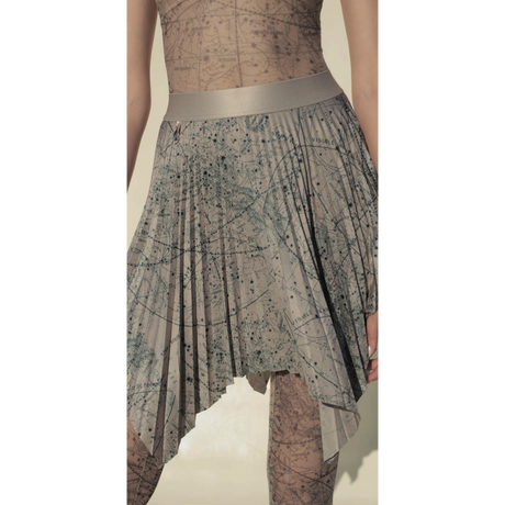 [Just A Corpse・予約商品] CELESTIAL PLEATED SHORT SKIRT