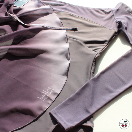 [Ballet Maniacs] Wrap Skirt 'Lilac Gradient'
