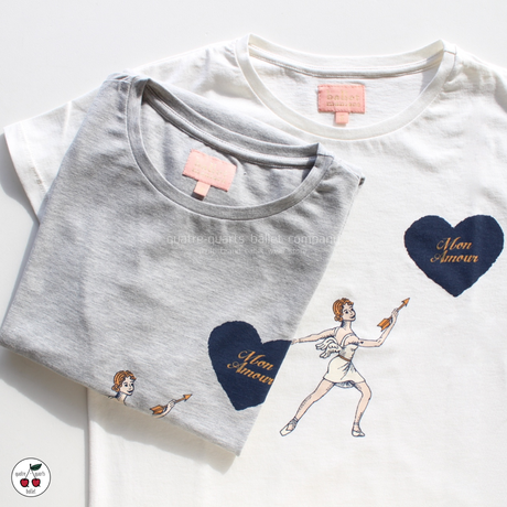 [Ballet Maniacs] T-shirt 'Mon Amour'