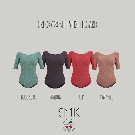 [S M K] CREORA® SLEEVED-LEOTARD (LEO03SL)