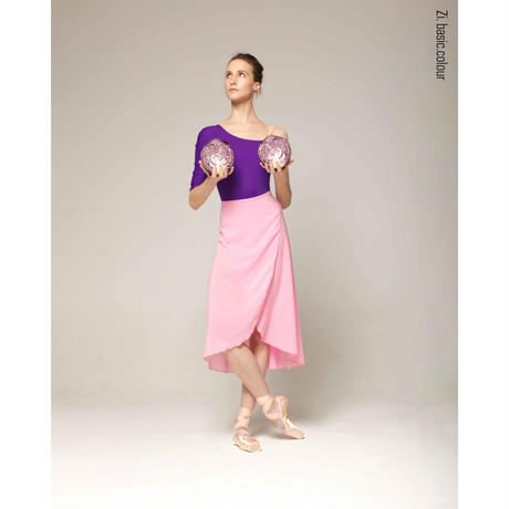 [Zi dancewear] Wrap skirt New Colours・EL丈