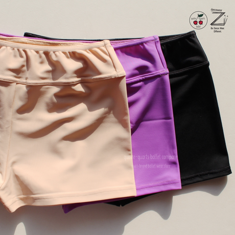 [Zi dancewear] The Shorts Stretch ・3型