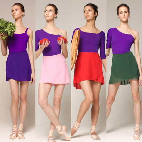 [Zi dancewear] Wrap skirt New Colours・M丈