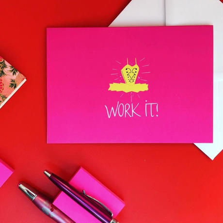[The Ballet Bag] Work It! Tutu Card