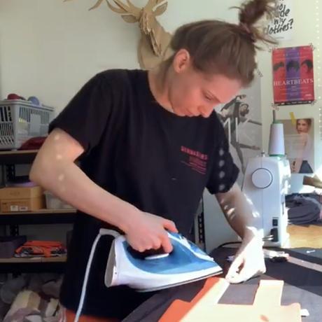 "[S M K] Handmade by Sandra ""Rabbit bag"""