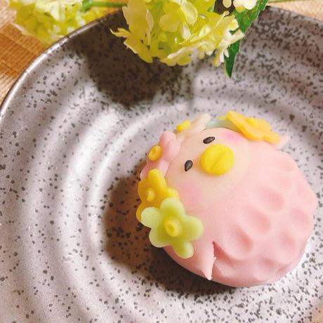 【6月15日まで!!】花ビエちゃん6個セット(花アマビエちゃん4個・アマビエちゃん2個