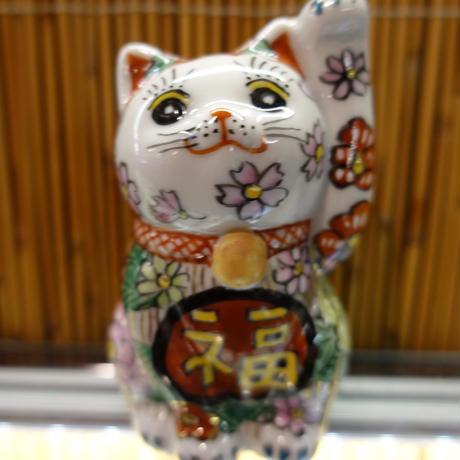 3.5G招き猫(花詰左手)