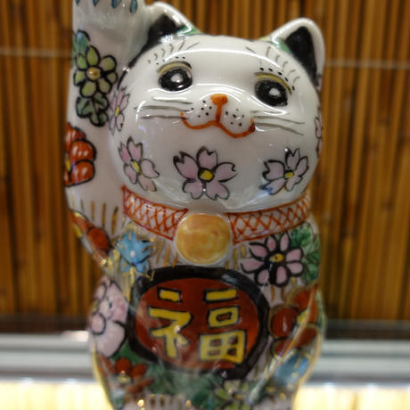 3.5G招き猫(花詰右手)