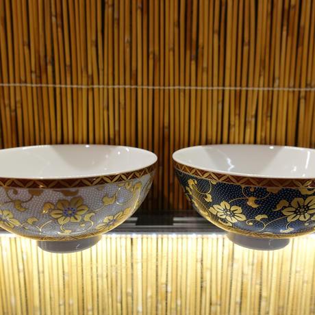 金山窯夫婦飯碗(白粒)