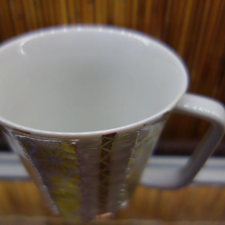 マグカップ金山窯白粒