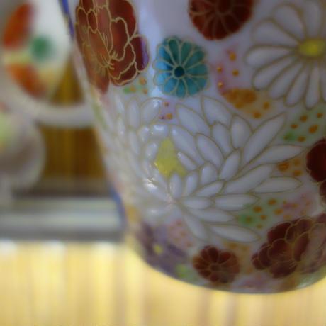カップ&ソーサ―花詰(ピンク)