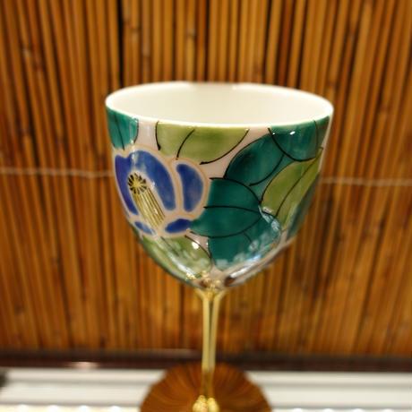 ワインカップ(山茶花青)