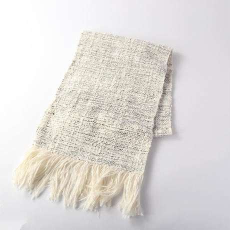 white×black『kibiso』stole