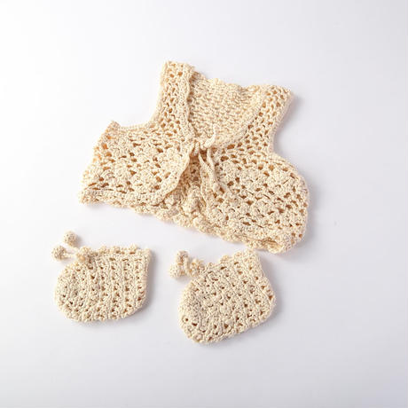 silk100% baby wear 2set