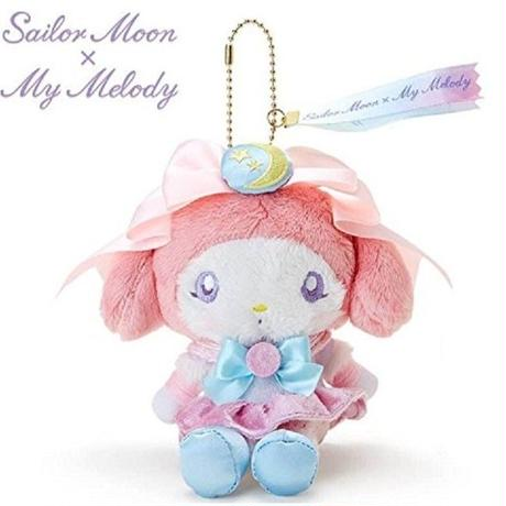 [New] Sailor Moon × My Melody Stuffed Doll Plush Sanrio F/S