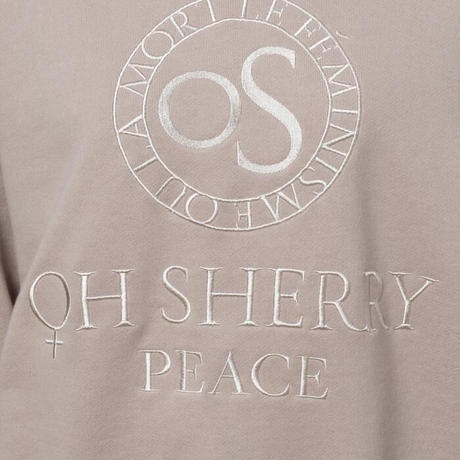 【Greed International グリードインターナショナル】Oh'Sherry PEACE in Beige
