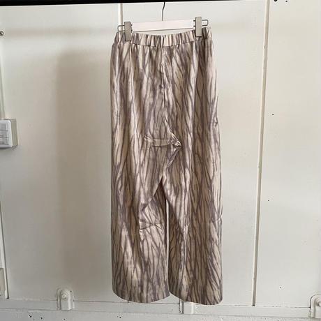 【siro de labonte シロ】wide marble pant  (ワイドマーブルパンツ)2color- R123302