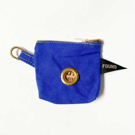 【Found My Animal /ファウンドマイアニマル】POOP BAG POUCH    (プープバッグ) BRIGHT BLUE