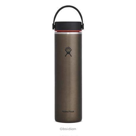 【ハイドロフラスク/Hydro Flask】 Lightweight Wide Mouth 24oz ステンレスボトル(709ml)