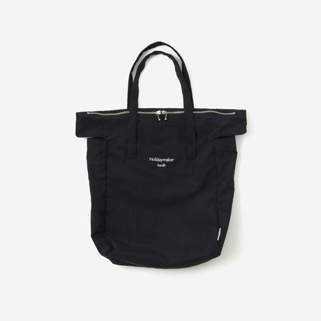 【Bed&Breakfast ベッド&ブレイクファースト】Holidaymaker Bag (トートバッグ)Black
