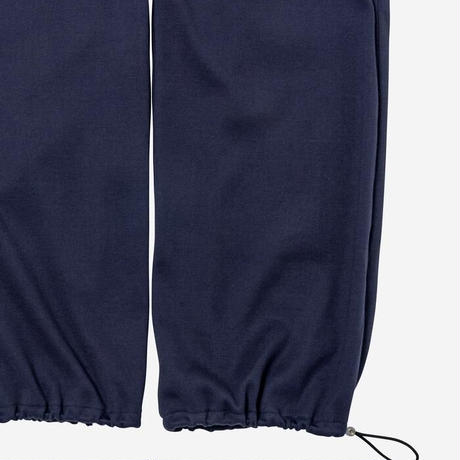【Bed&Breakfast ベッド&ブレイクファースト】Natural Rib Pants in Chacoal