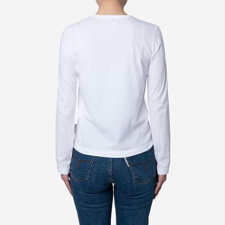 【Bed&Breakfast】Technorama Standard Long Sleeve in White