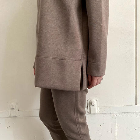 ★7月25日先行予約★【Bed&Breakfast】【quan別注】double air sweat pants (ダブルエアースウェットパンツ)BROWNMIX
