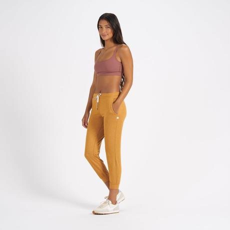 【vuori/ヴオリ】WOMENS performance jogger (パフォーマンスジョガー) VW303 Flax Heather