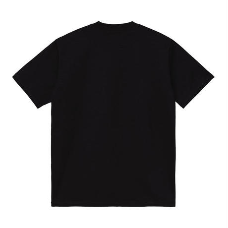 【Carhartt WIP /カーハートウィップ】S/S UNIVERSITY T-SHIRT - Black / White