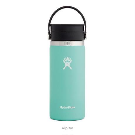 【ハイドロフラスク/Hydro Flask】 16 oz Wide Mouth ステンレスボトル(473ml)