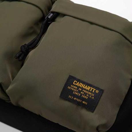 【Carhartt WIP /カーハートウィップ】Military Hip Bag (ミリタリーヒップバッグ)I024-252 Cypress/ Black