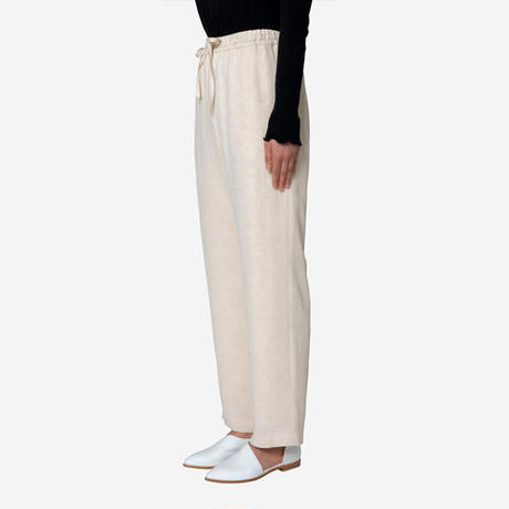 【Greed International グリードインターナショナル】Original Flower Crepe Jacquard Pants in Ivory