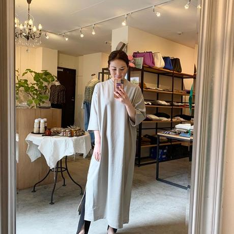 【Traditional Wetherwear】SLIT LONG T DRESS