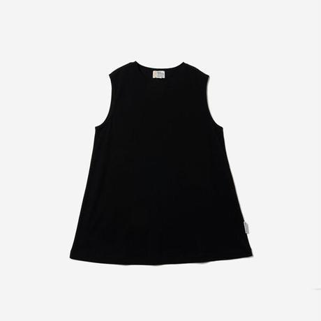 【Bed&Breakfast】Technorama Standard Drape Tank in Black