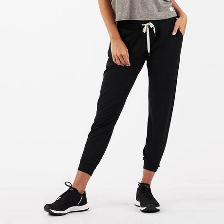 【vuori/ヴオリ】WOMENS performance jogger (パフォーマンスジョガー) VW303 black