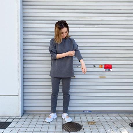 ★7月25日先行予約★【Bed&Breakfast】 【quan別注】double air sweat (ダブルエアースウェット)BLACKMIX
