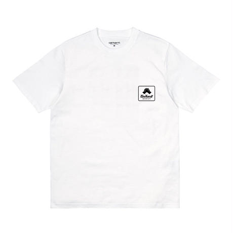 【Carhartt WIP /カーハートウィップ】S/S PEACE STATE T-SHIRT - White / Black