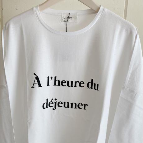 【siro de labonte シロ】lunchtime pullover-white