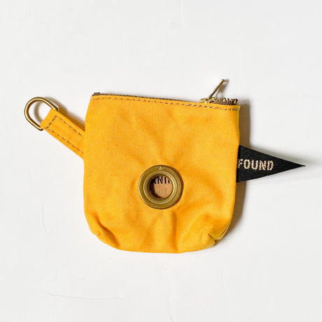 【Found My Animal /ファウンドマイアニマル】POOP BAG POUCH    (プープバッグ)BRIGHT YELLOW