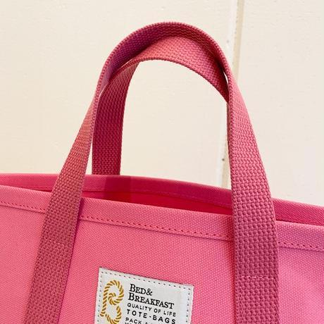 【Bed&Breakfast ベッド&ブレイクファースト】【quan別注カラー】TOTE BAG (トートバッグ)Sサイズ Pink