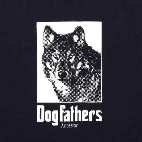 【HAINU ハイヌ】Dog Ancestors T-shirts   (ドッグアンセスターティーシャツ)black/white