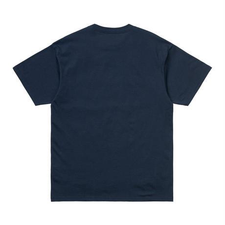【Carhartt WIP /カーハートウィップ】S/S SHADOW SCRIPT T-SHIRT - Blue