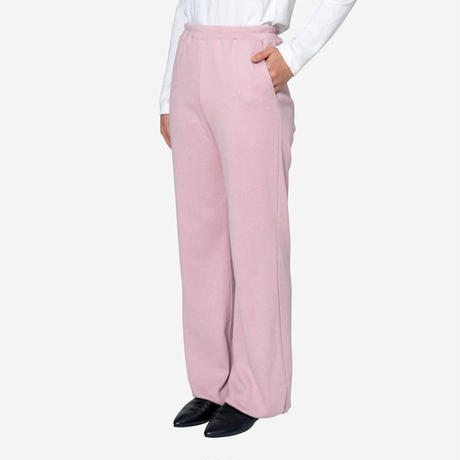 【Bed&Breakfast ベッド&ブレイクファースト】Natural Rib Pants in Pink