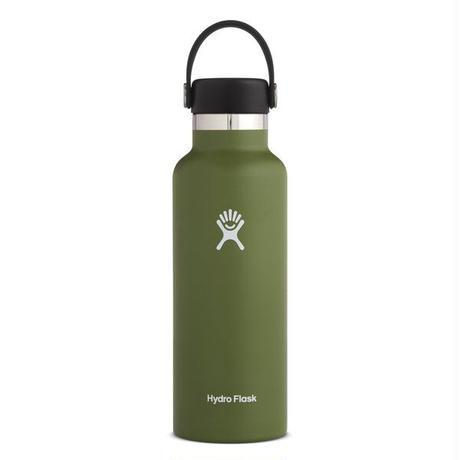 【ハイドロフラスク/Hydro Flask】 18 oz Standard Mouth ステンレスボトル(532ml)