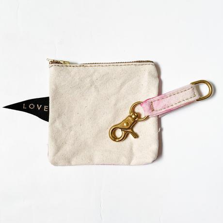 【Found My Animal /ファウンドマイアニマル】POOP BAG POUCH    (プープバッグ) MAGENTA