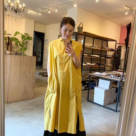 【CLOCHE クロシェ】long tops  (ロングトップス)