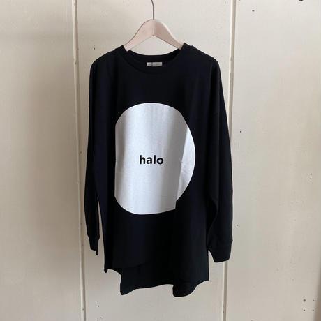 【siro de labonte シロ】HALO long t-shirt -black